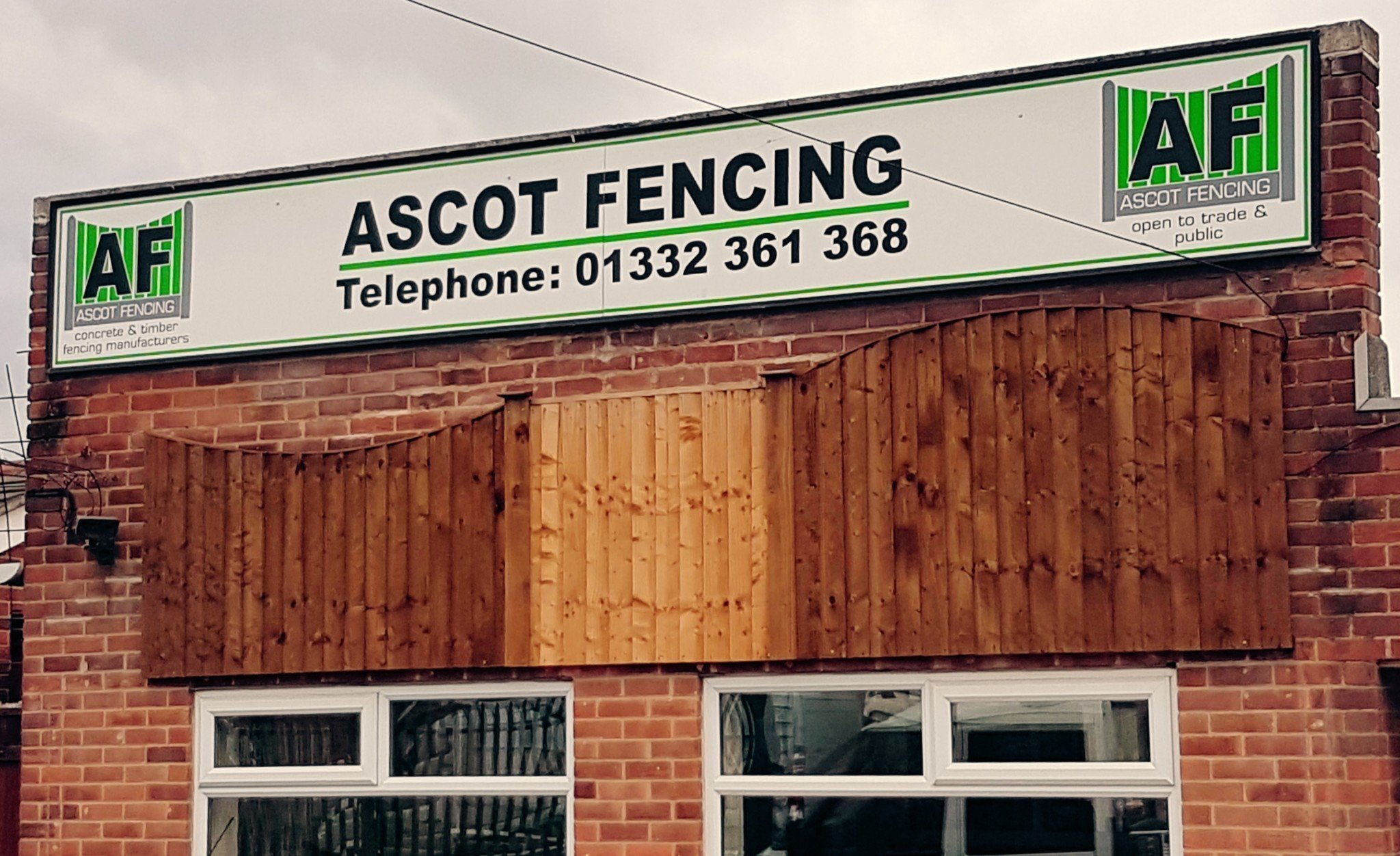 Visit Our Showroom Ascot Fencing Derby