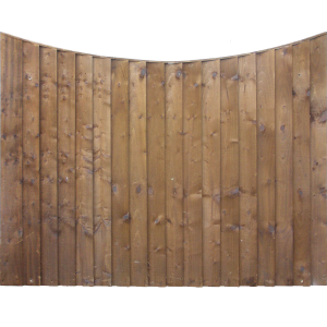 Concave Fence Panel