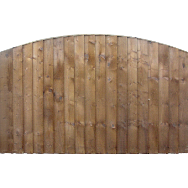 Dome Top Fence Panel